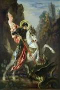 Святой Георгий и дракон - Моро, Гюстав