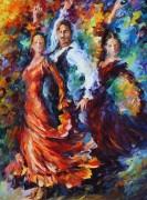 Трио фламенко - Афремов, Леонид (20 век)