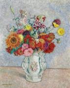 Букет цветов, 1961 - Смет, Леон де