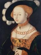 Портрет дамы - Бальдунг, Ханс (Грин)
