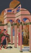 Святой Франциск отрекается от земного отца - Сассетта, Стефано ди Джованни