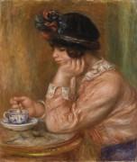 Чашка шоколада - Ренуар, Пьер Огюст