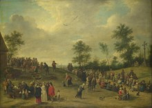 Фестиваль недалеко от Антверпена -  Тенирс, Давид