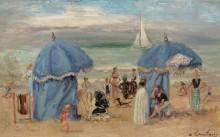 Пляж в Трквилле, 1951 - Гамбург, Андре