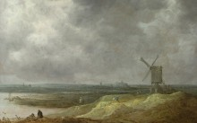 Ветряная Мельница у Реки - Гойен, Ян ван