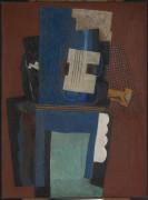 Гитара и кларнет на каминной полке - Пикассо, Пабло