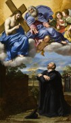 Видение святого Игнатия Лойолы - Доменикино (Доменико Дзампьери)