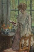 Молодая женщина читает, 1916 - Мелчес, Гари