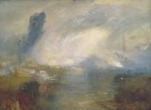 Темза выше моста Ватерлоо - Тернер, Джозеф Мэллорд Уильям