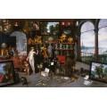 Аллегория зрения (Венера и Купидон в картинной галерее) - Брейгель, Ян (младший)