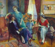Семейный портрет - Глакенс, Уильям