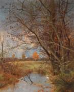 Осенний пейзаж - Кауфман, Адольф