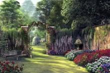 Цветочный сад - Девисон, Доминик