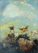 Бабочки - Редон, Одилон