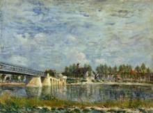 Мост в Сен-Мамесе - Сислей, Альфред