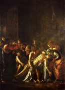 Воскрешение Лазаря - Караваджо, Микеланджело Меризи да