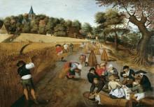Сбор урожая - Брейгель, Питер (Младший)