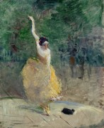 Испанская танцовщица - Тулуз-Лотрек, Анри де