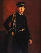 Ахилл Дега в форме морского кадетта, 1857 - Дега, Эдгар