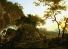 Итальянский пейзаж - Пейнакер, Адам