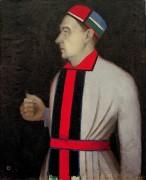 Мужской портрет - Малевич, Казимир