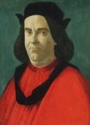Портрет Лоренцо ди Сер Пьеро Лоренци - Боттичелли, Сандро