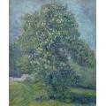 Цветущий каштан (Chestnut Tree in Blossom), 1887 - Гог, Винсент ван