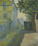 Улица Мон-Сени, Монмартр, 1880 - Кайботт, Густав