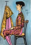 Аннабель в образе тореадора - Бюффе, Бернар