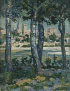 Вдоль Рона, Авиньон, 1910 - Зорах, Уильям