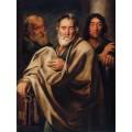 Святой Петр с апостолами - Йорданс, Якоб