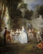 Венецианский праздник - Ватто, Жан Антуан
