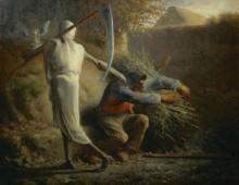 Дровосек и смерть - Милле, Жан-Франсуа