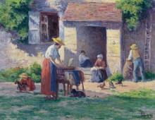 Ферма в Бесси-Сюр-Кюр, 1906-07 - Люс, Максимильен