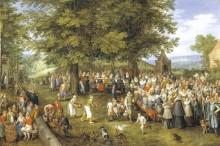Свадьба, 1612 - Брейгель, Ян (Старший)