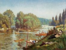 Берега  Марны в Ла-Варен, 1921 - Бернард, Эмиль