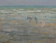 Пляж в Корсике, 1913 - Фризек, Фредерик Карл
