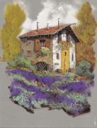 Лавандовое поле - Борелли, Гвидо (20 век)