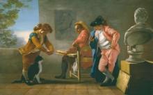 Студия художника - Кастильо, Хосе дель