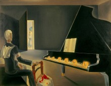 Частичная галлюцинация (6 явлений Ленина на фортепиано) - Дали, Сальвадор