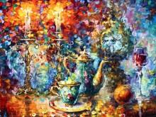 Время чаепития - Афремов, Леонид (20 век)
