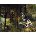 Розалинда и Селия, а также Ганимед и Алиена в Арденском лесу - Деверел, Уолтер