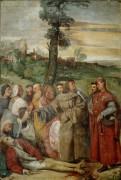 Излечение гневливого сына - Тициан Вечеллио