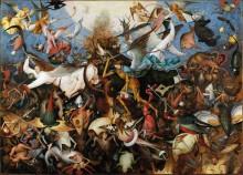 Падение мятежных ангелов - Брейгель, Питер (Старший)