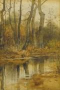 Ручей в лесу - Хассам, Фредерик Чайлд