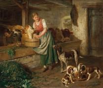 Мать щенков - Эберле, Адольф