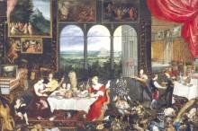 Слух, осязание и вкус, 1620 - Брейгель, Ян (Старший)