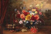Натюрморт с осенними цветами - Гёбль-Валь, Камилла
