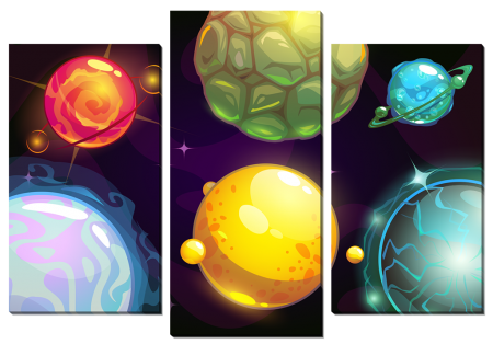 Планеты в космосе_2