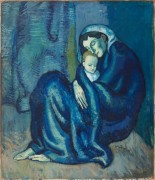 Мать с ребенком - Пикассо, Пабло
